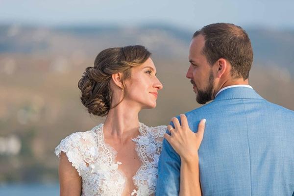 Πανέμορφος καλοκαιρινός γάμος στην Κέα | Δάφνη & Tobias