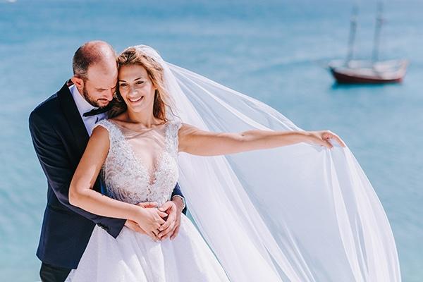Elegant φθινοπωρινός γάμος στην Πάρο | Χρύσα & Στέλιος