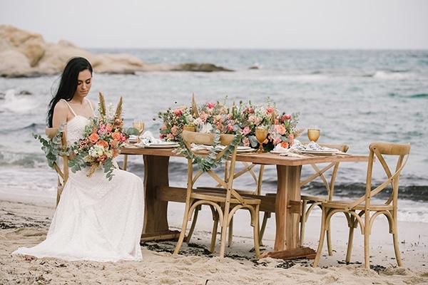 Ρομαντικό styled shoot στην παραλία