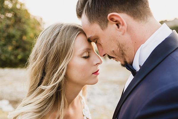 Ρομαντικός καλοκαιρινός γάμος σε παστέλ αποχρώσεις | Μύρια & Παναγιώτης