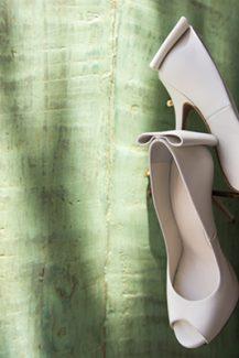 Chic νυφικά παπούτσια