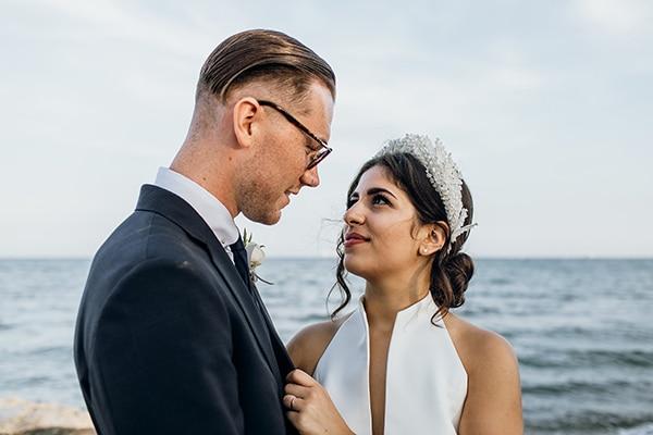 Πανέμορφος παραθαλάσσιος γάμος στη Λάρνακα