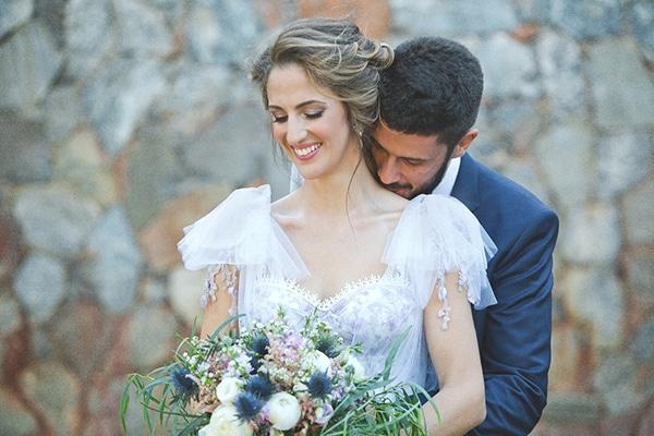 Ρουστίκ καλοκαιρινός γάμος σε κτήμα | Δήμητρα & Γιώργος