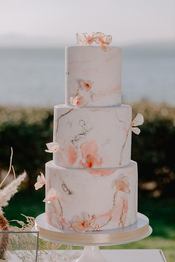Rough – stone τούρτα γάμου