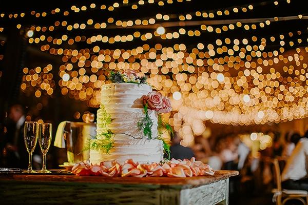 Πανέμορφη τούρτα γάμου