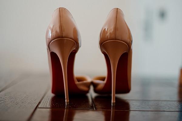Λουστρίνι νυφικά παπούτσια