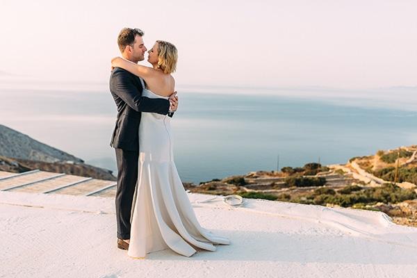 Όμορφος ρουστίκ γάμος στη Φολέγανδρο