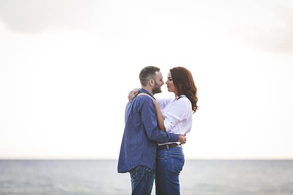 Ονειρικη prewedding φωτογραφιση στη θαλασσα | Ελενη & Δημητρης