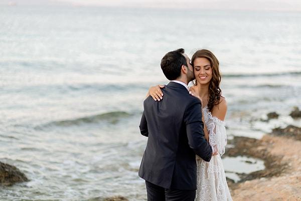 Μοντερνος chic γαμος με γεωμετρικες πινελιες | Κατερινα & Θοδωρης