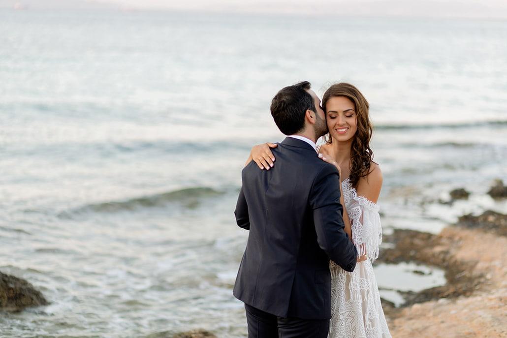 Μοντέρνος chic γάμος με γεωμετρικές πινελιές | Κατερίνα & Θοδωρής