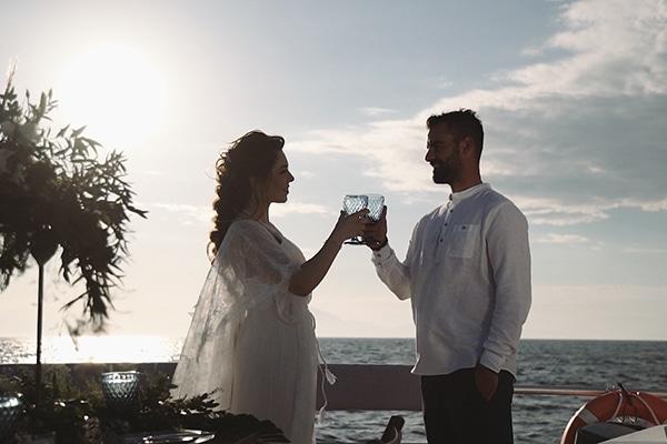 Ρομαντικό boho βίντεο styled shoot σε σκάφος