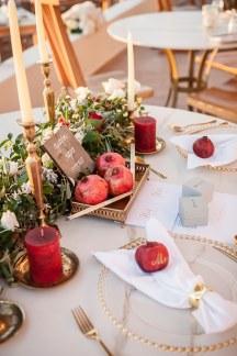 Ομορφο table scape σε ζωηρα χρωματα