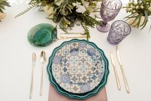 Elegant table scape