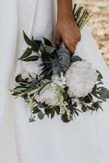 Ιδιαιτερο μπουκετο λουλουδιων