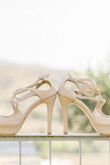 Κομψά νυφικά παπούτσια