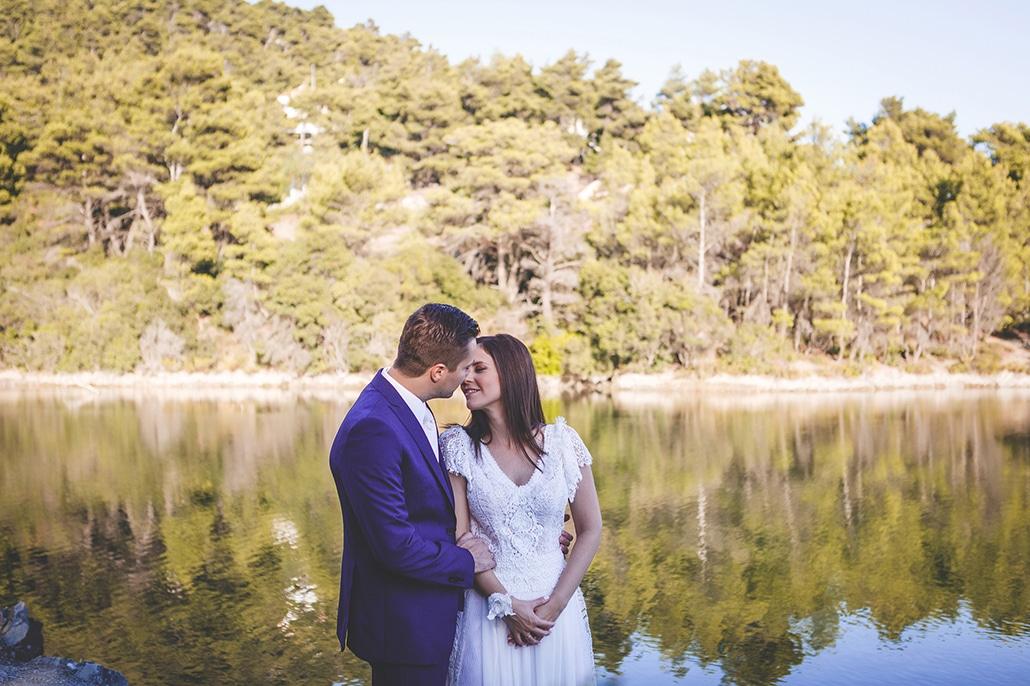 Όμορφος φθινοπωρινός γάμος με ρομαντικές λεπτομέρειες | Ελένη & Στράτος