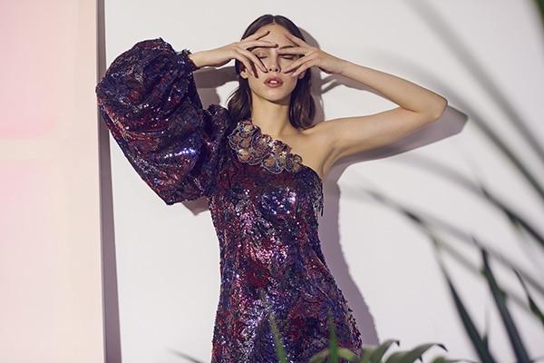 Εντυπωσιακά φθινοπωρινά φορέματα Costarellos | Pre-Fall 2019 Collection