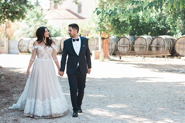 Ρομαντικός φθινοπωρινός γάμος με chic πινελιές | Αλέξια & Γιάννης