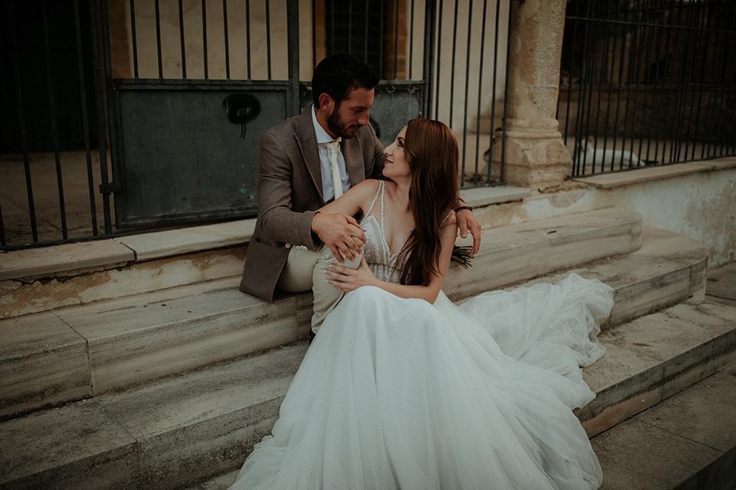 Ρομαντικός γάμος με natural style | Μελανθία & Αλέξης