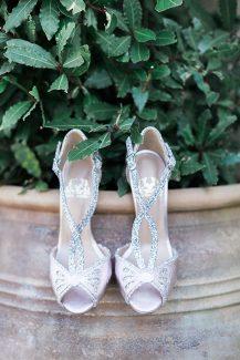 Μοντέρνα νυφικά παπούτσια