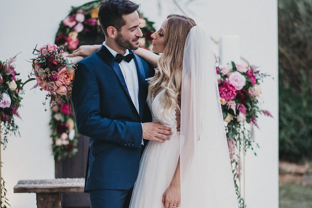 Ονειρικός elegant γάμος με έντονα χρώματα | Λυδία & Λευτέρης