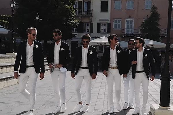 Ρομαντικό βίντεο καλοκαιρινού γάμου στην Κέρκυρα