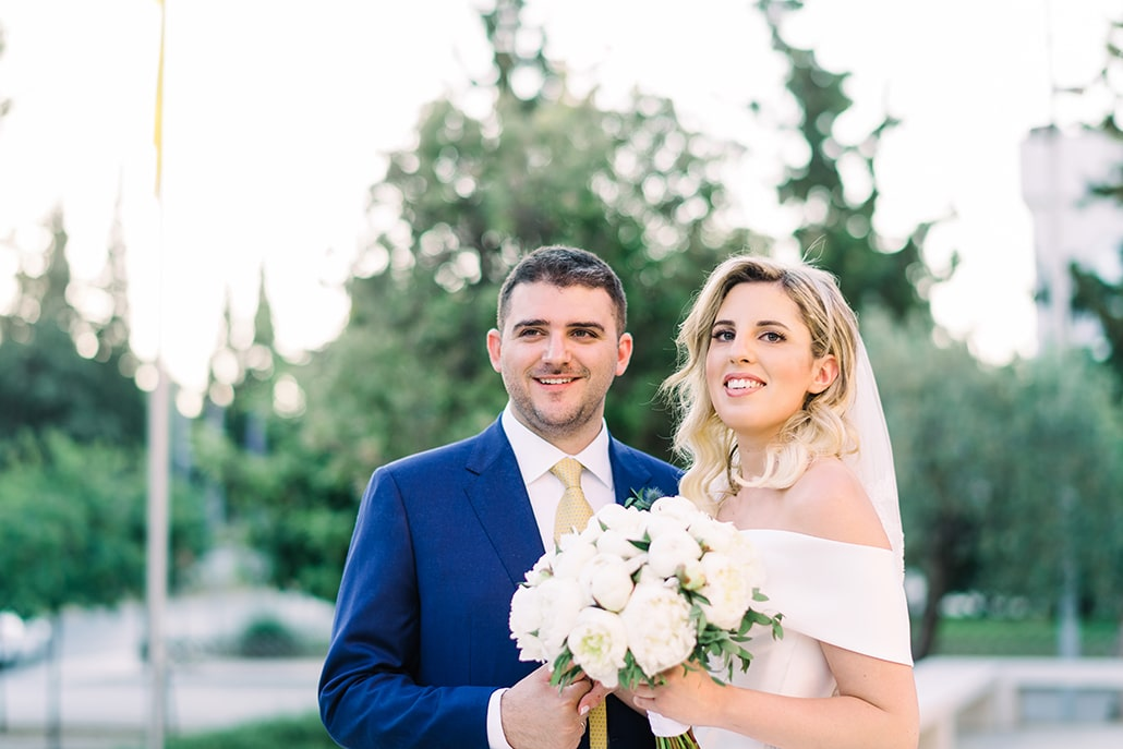 Εντυπωσιακός elegant γάμος με ρομαντικές λεπτομέρειες | Νεφέλη & Κωνσταντίνος