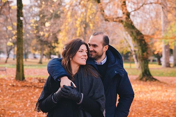 Φθινοπωρινη prewedding φωτογραφιση στη Γαλλια