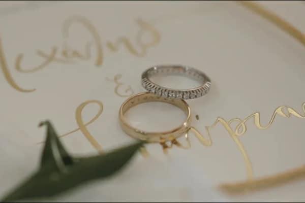 Ρομαντικό same day video γάμου με χρυσές πινελιές | Σταύρια & Μιχάλης