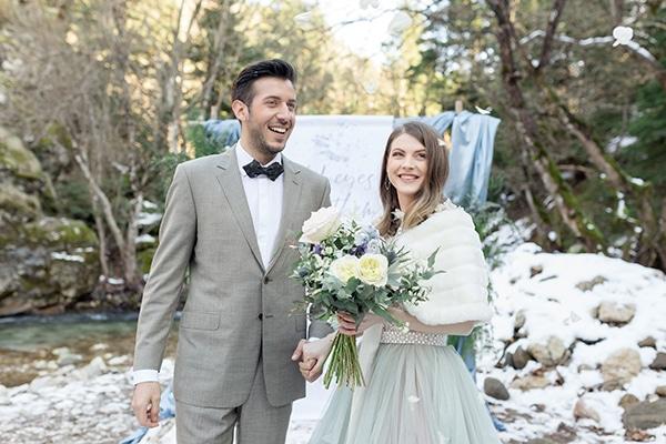 Ρομαντικο χειμωνιατικο styled shoot σε μαγευτικο χιονισμενο τοπιο