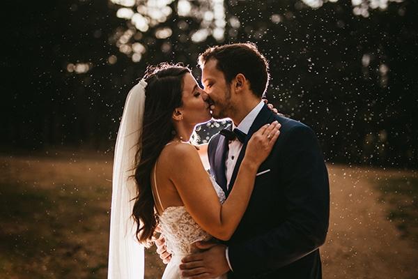 Ρουστίκ καλοκαιρινός γάμος με γυψοφίλη | Μαριλένα & Αλέξανδρος