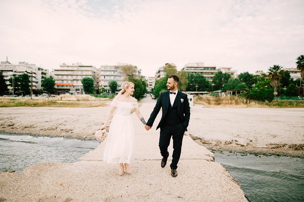 Ανοιξιάτικος πολιτικός γάμος στη Θεσσαλονίκη | Εύα & Μάριος