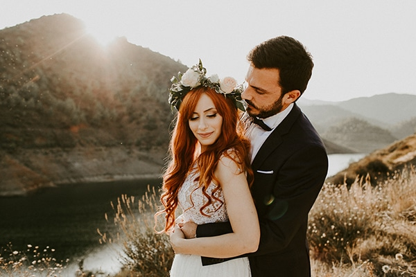 Παραμυθένιος γάμος με fairylights και λουλούδια στη Λευκωσία | Έλενα & Πρόδρομος