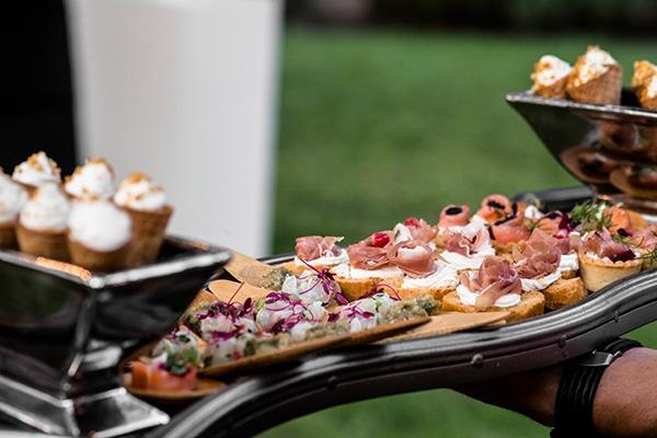 Εντυπωσιακές ιδέες για το catering του γάμου σας
