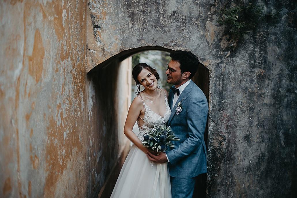 Ρομαντικός γάμος στην Κέρκυρα σε λιλά αποχρώσεις | Ελένη & Χρήστος