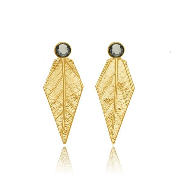 Πανεμορφα σκουλαρικια σε χρυσο χρωμα
