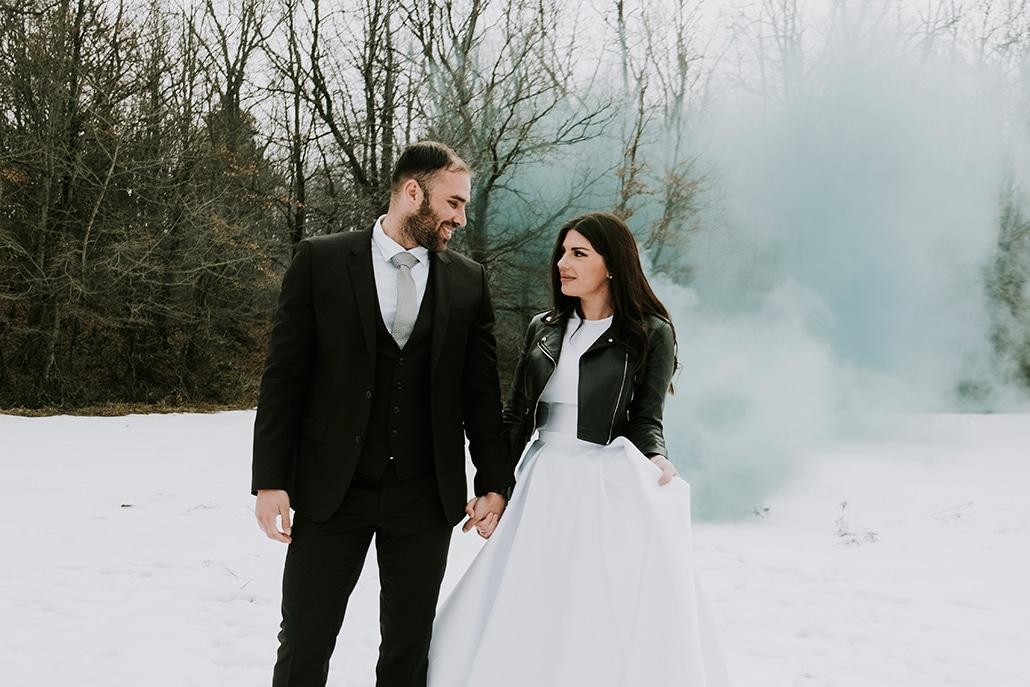 Όμορφος χριστουγεννιάτικος γάμος στη Θεσσαλονίκη | Μαρία & Δημήτριος