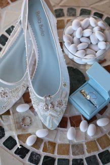 Ιδιαίτερα νυφικά παπούτσια