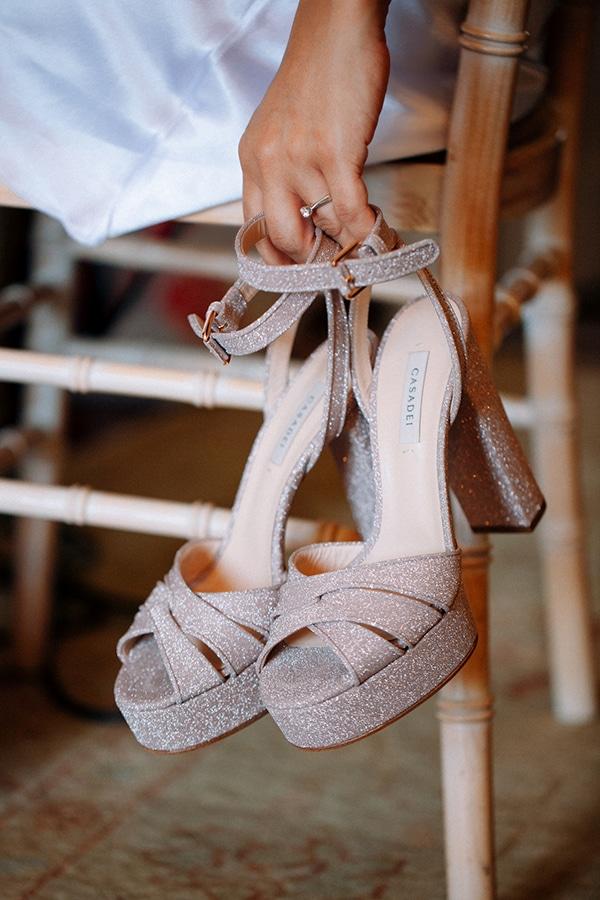 Πανέμορφα νυφικά παπούτσια