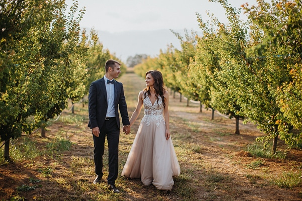 Elegant φθινοπωρινός γάμος με ρομαντικές λεπτομέρειες στη Λάρισα | Μαρία & Αλέξανδρος