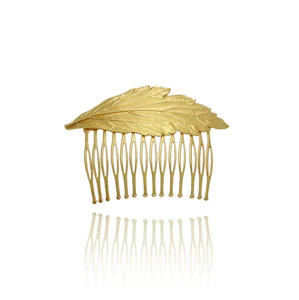 Νυφικο αξεσουαρ μαλλιων σε χρυσο χρωμα