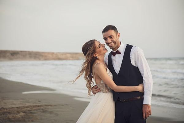 Ρομαντικος καλοκαιρινος γαμος στη Λευκωσια σε παστελ αποχρωσεις | Λουιζα & Leonardo