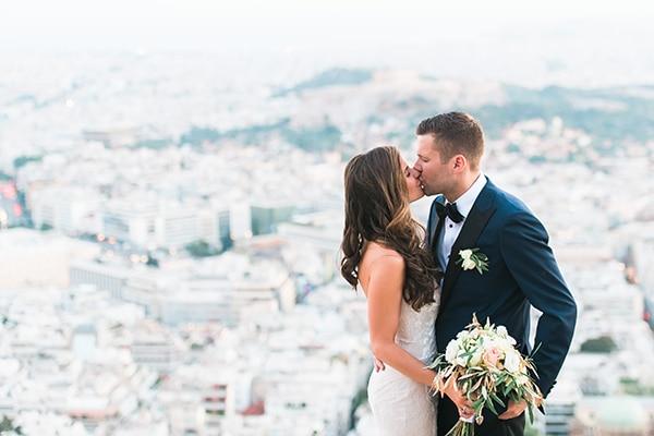 Ρομαντικος καλοκαιρινος γαμος με ελια στην Αθηνα | Θεοδωρα & Bill
