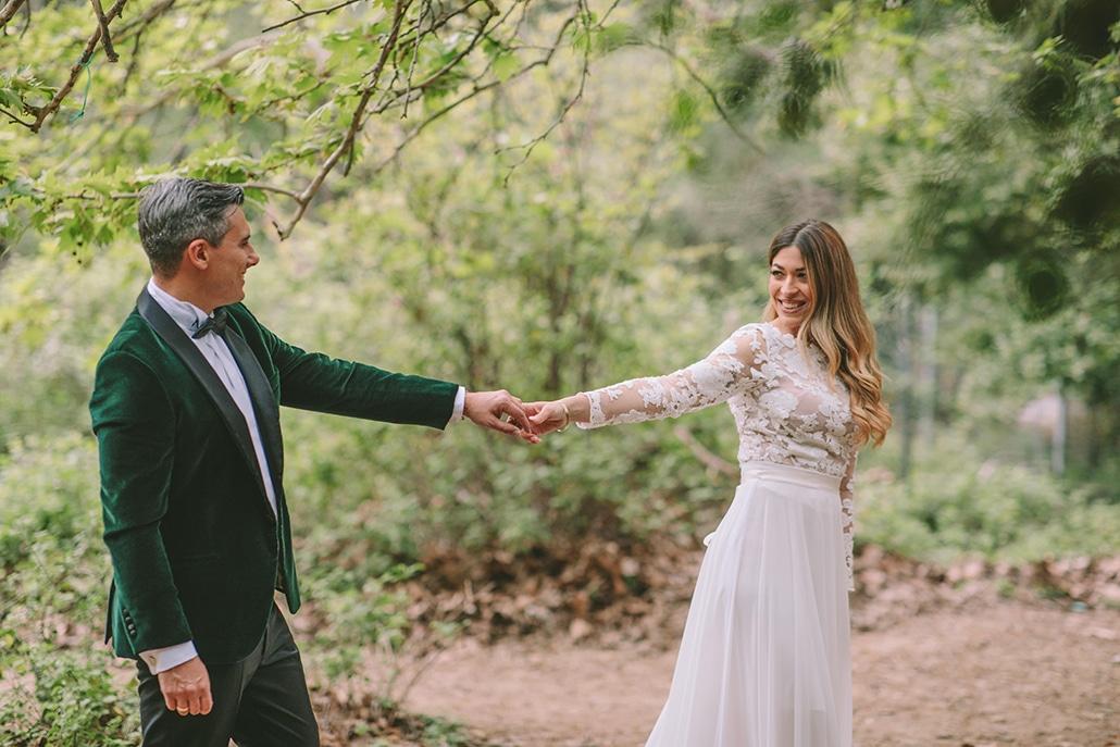 Stylish χειμωνιάτικος γάμος στην Αθήνα