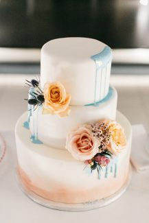 Όμορφη τούρτα γάμου