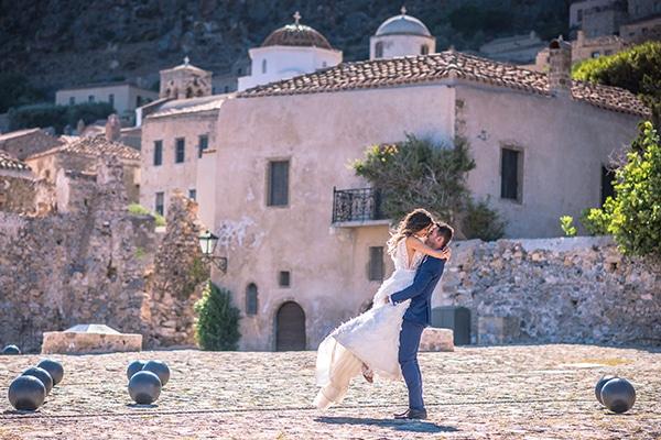 Όμορφη next day φωτογράφιση στο κάστρο της Μονεμβασιάς