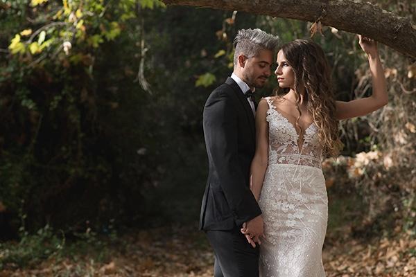 Ομορφος ανοιξιατικος γαμος με ρομαντικες λεπτομερειες σε ροζ και λευκες αποχρωσεις | Μαρια & Δημητρης