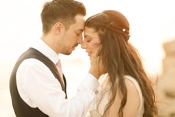Όμορφος καλοκαιρινός γάμος με string lights στην Αγία Νάπα | Έλλη & Μάρτιν
