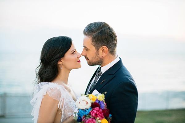 Ρομαντικος καλοκαιρινος γαμος με εντονα χρωματα στην Εδεσσα | Δημητρα & Σακης