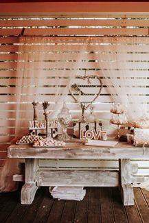 Όμορφο welcome table